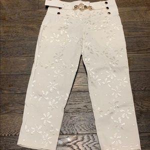 Beautiful white capris
